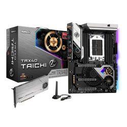 Asrock TRX40 TAICHI, AMD TRX40, sTRX40, ATX, XFire/SLI, AX Wi-Fi, 2.5GB LAN, RGB Lighting, M.2