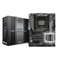 Asrock X299 OC FORMULA, Intel X299, 2066, ATX, 4 DDR4, SLIXFire, Dual GB LAN, RGB Lighting