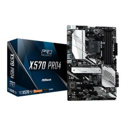 Asrock X570 PRO4, AMD X570, AM4, ATX, 4 DDR4, HDMI, DP, XFire, PCIe4, RGB Lighting, M.2