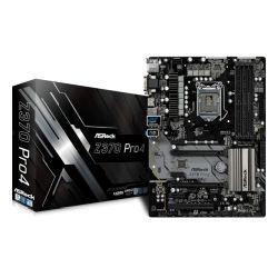Asrock Z370 PRO4, Intel Z370, 1151, ATX, 4 DDR4, CrossFire, VGA, DVI, HDMI