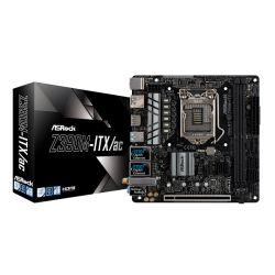 Asrock Z390M-ITX/AC, Intel Z390, 1151, Mini ITX, 2 DDR4, 2 HDMI, DP, Dual LAN, Wi-Fi, M.2