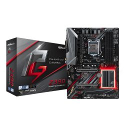 Asrock Z390 PHANTOM GAMING SLI, Intel Z390, 1151, ATX, DDR4, XFireSLI, DVI, HDMI, 2.5GB LAN, RGB Lighting, M.2