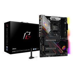 Asrock Z390 PHANTOM GAMING X, Intel Z390, 1151, ATX, XFire/SLI, HDMI, DP, Wi-Fi, Triple LAN, 2.5GB LAN, RGB Lighting, M.2