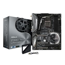 Asrock Z390 TAICHI ULTIMATE, Intel Z390, 1151, ATX, XFire/SLI, HDMI, DP, Triple LAN (1 x 10GB), Wi-Fi, RGB Lighting