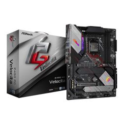 Asrock Z490 PG VELOCITA, Intel Z490, 1200, ATX, 4 DDR4, XFire, HDMI, DP, 2.5G LAN, RGB Lighting, M.2
