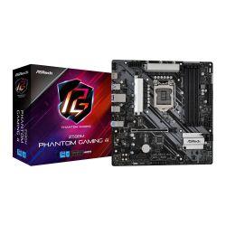 Asrock Z590M PHANTOM GAMING 4, Intel Z590, 1200, Micro ATX, 4 DDR4, XFire, HDMI, RGB, 2x M.2