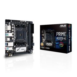 Asus PRIME A320I-K CSM - Corporate Stable Model, AMD A320, AM4, Mini ITX, 2 DDR4, HDMI, DP, M.2