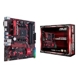 Asus Expedition A320M GAMING, AMD A320, AM4, Micro ATX, DDR4, DVI, HDMI, Non-stop Durability, RGB Lighting, M.2