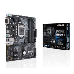 Asus PRIME B360M-A, Intel B360, 1151, Micro ATX, DDR4, VGA, DVI, HDMI, USB 3.1 Gen2, M.2