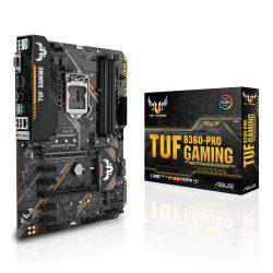 Asus TUF B360-PRO GAMING, Intel B360, 1151, ATX, DDR4, VGA, HDMI, XFire, Dual M.2, RGB Lighting