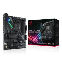 Asus ROG STRIX B450-E GAMING, AMD B450, AM4, ATX, 4 DDR4, XFire, Wi-Fi, HDMI, DP, M.2, RGB Lighting