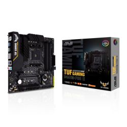 Asus TUF GAMING B450M-PRO II, AMD B450, AM4, Micro ATX, 4 DDR4, XFire, HDMI, DP, RGB Lighting, M.2