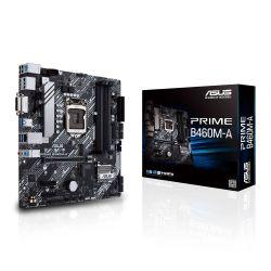 Asus PRIME B460M-A, Intel B460, 1200, Micro ATX, 4 DDR4, DVI, HDMI, DP, M.2