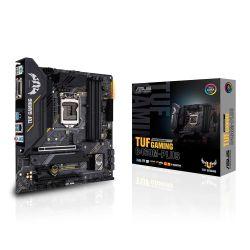 Asus TUF GAMING B460M-PLUS, Intel B460, 1200, Micro ATX, 4 DDR4, XFire, DVI, HDMI, DP, RGB Lighting, M.2