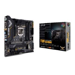 Asus TUF GAMING B460M-PLUS (WI-FI), Intel B460, 1200, Micro ATX, 4 DDR4, XFire, DVI, HDMI, DP, AX Wi-Fi, RGB Lighting, M.2