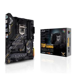 Asus TUF GAMING B460-PLUS, Intel B460, 1200, ATX, 4 DDR4, XFire, HDMI, DP, RGB Lighting, M.2