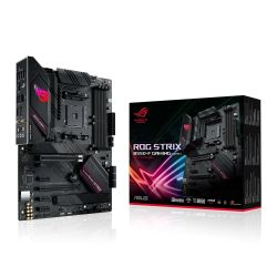 Asus ROG STRIX B550-F GAMING (WI-FI), AMD B550, AM4, ATX, 4 DDR4, HDMI, DP, XFire, AX Wi-Fi, 2.5GB LAN, RGB Lighting, M.2