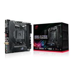 Asus ROG STRIX B550-I GAMING, AMD B550, AM4, Mini ITX, 2 DDR4, HDMI, DP, AX Wi-Fi, 2.5GB LAN, PCIe4, RGB Lighting, M.2
