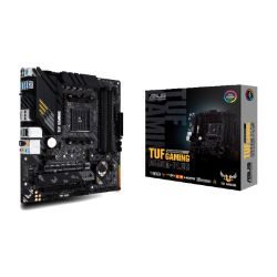 Asus TUF GAMING B550M-PLUS, AMD B550, AM4, Micro ATX, 4 DDR4, HDMI, DP, XFire, 2.5GB LAN, PCIe4, RGB Lighting, M.2