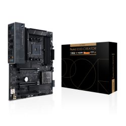 Asus PROART B550-CREATOR, AMD B550, AM4, ATX, 4 DDR4, HDMI, DP, 2 Thunderbolt/DP, XFire, 2x 2.5GB LAN, Advanced Security, 2x M.2