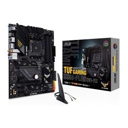 Asus TUF GAMING B550-PLUS (WI-Fi), AMD B550, AM4, ATX, 4 DDR4, HDMI, DP, XFire, AX Wi-Fi, 2.5GB LAN, RGB Lighting, M.2