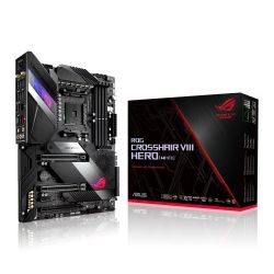 Asus ROG CROSSHAIR VIII HERO (WI-FI), AMD X570, AM4, ATX, 4 DDR4, SLI/XFire, 2.5GB LAN, PCIe4, RGB Lighting, M.2