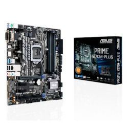 Asus PRIME H270M-PLUS Intel H270 1151 Micro ATX DDR4 CrossFire VGA DVI HDMI RAID