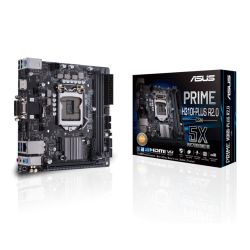 Asus PRIME H310I-PLUS R2.0/CSM - Corporate Stable Model, Intel H310, 1151, Mini ITX, 2 DDR4, VGA, DVI, HDMI, M.2