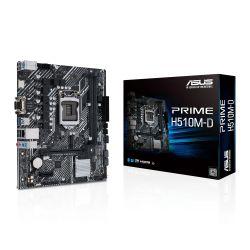 Asus PRIME H510M-D, Intel H510, 1200, Micro ATX, 2 DDR4, VGA, HDMI, M.2