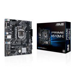 Asus PRIME H510M-E, Intel H510, 1200, Micro ATX, 2 DDR4, VGA, HDMI, DP, M.2