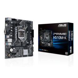 Asus PRIME H510M-K, Intel H510, 1200, Micro ATX, 2 DDR4, VGA, HDMI, M.2