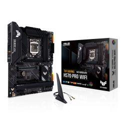 Asus TUF GAMING H570-PRO WIFI, Intel H570, 1200, ATX, 4 DDR4, HDMI, DP, AX Wi-Fi, 2.5G LAN, RGB, 3x M.2