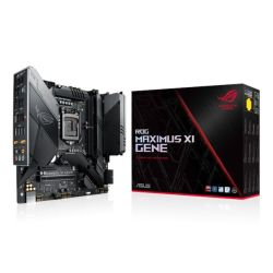 Asus ROG MAXIMUS XI GENE, Intel Z390, 1151, Micro ATX, 2 DDR4 (64GB), HDMI, Wi-Fi, RGB Lighting, M.2