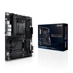 Asus PRO WS X570-ACE, Workstation, AMD X570, AM4, ATX, HDMI, DP, SLI/XFire, Dual GB LAN, Asus Control Center Express