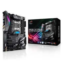 Asus ROG STRIX X299-XE GAMING, Intel X299, 2066, ATX, 8 DDR4, SLI/XFire, Wi-Fi, M.2 Heatsink, RGB Lighting, Including STRIX Extras