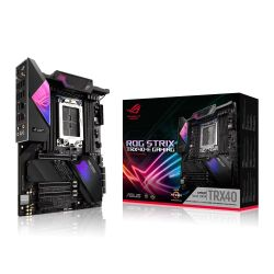 Asus ROG STRIX TRX40-E GAMING, AMD TRX40, sTRX40, ATX, XFire/SLI, AX Wi-Fi, 2.5GB LAN, RGB Lighting, M.2