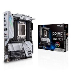 Asus PRIME TRX40-PRO S, AMD TRX40, sTRX40, ATX, 8 DDR4, XFire/SLI, RGB Lighting, M.2, Robust Power, 64 Core CPU Support