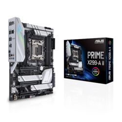 Asus PRIME X299-A II, Intel X299, 2066, ATX, 8 DDR4, SLI/XFire, M.2 Heatsink, 12 IR3555 Power, RGB Lighting