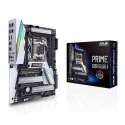 Asus PRIME X299- DELUXE II, Intel X299, 2066, ATX, 8 DDR4, SLI/XFire, M.2 Heatsink, Wi-Fi, 5G LAN, RGB Lighting, M.2