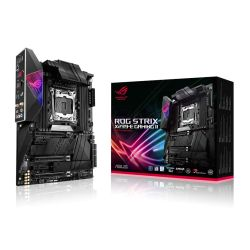 Asus ROG STRIX X299-E GAMING II, Intel X299, 2066, ATX, 8 DDR4, SLI/XFire, AX Wi-Fi, RGB Lighting, 2.5GB LAN, M.2