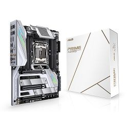 Asus PRIME X299 EDITION 30, Intel X299, 2066, ATX, 8 DDR4, SLI/XFire, Wi-Fi, 5GB LAN, RGB Lighting, M.2