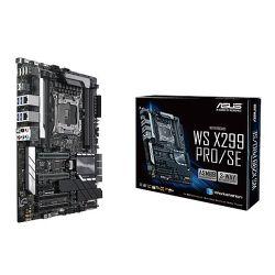 Asus X299-WS PRO/SE, Workstation, Intel X299, 2066, ATX, DDR4, U.2, Dual LAN, Embedded iKVM Module, M.2