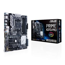 Asus PRIME X370-PRO, AMD X370, AM4, ATX, 4 DDR4, HDMI, DP, SLI/XFire, RGB Lighting, M.2