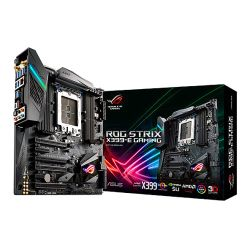 Asus ROG STRIX X399-E GAMING, AMD X399, TR4, EATX, 8 DDR4, XFire/SLI, Wi-Fi, RGB Lighting, M.2