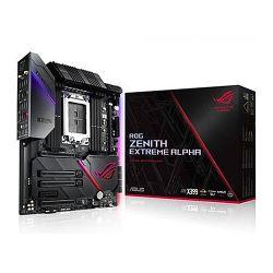 Asus ROG ZENITH EXTREME ALPHA, AMD X399, TR4, EATX, 8 DDR4, XFire/SLI, Wi-Fi, Dual LAN (1 x 10GB), RGB Lighting