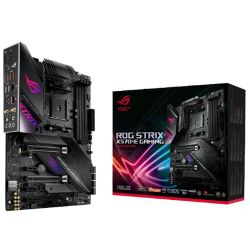 Asus ROG STRIX X570-E GAMING, AMD X570, AM4, ATX, 4 DDR4, HDMI, DP, SLI/XFire, Wi-Fi, 2.5GB LAN, PCIe4, RGB Lighting, M.2