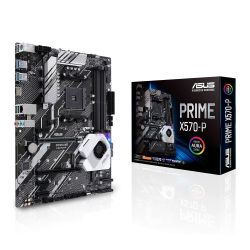 Asus PRIME X570-P, AMD X570, AM4, ATX, 4 DDR4, HDMI, XFire, PCIe4
