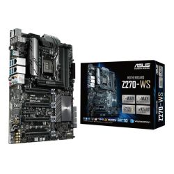 Asus Z270-WS, Workstation, Intel Z270, 1151, ATX, DDR4, HDMI, DP, SLI/Crossfire, Dual GB LAN, USB 3.1, M.2