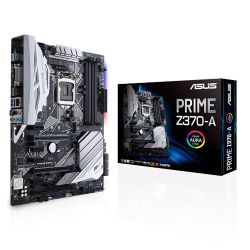 Asus PRIME Z370-A II, Intel Z370, 1151, ATX, DDR4, XFireSLI, DVI, HDMI, DP,  RGB Lighting