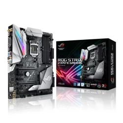 Asus ROG STRIX Z370-E GAMING, Intel Z370, 1151, ATX, 4 DDR4, XFireSLI, DVI, HDMI, DP, Wi-Fi, RGB Lighting
